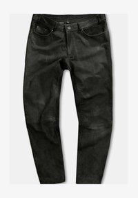 JP1880 - Leather trousers - marron - 0