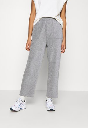 ONLDENISE LOUNGE PANT - Tracksuit bottoms - light grey melange