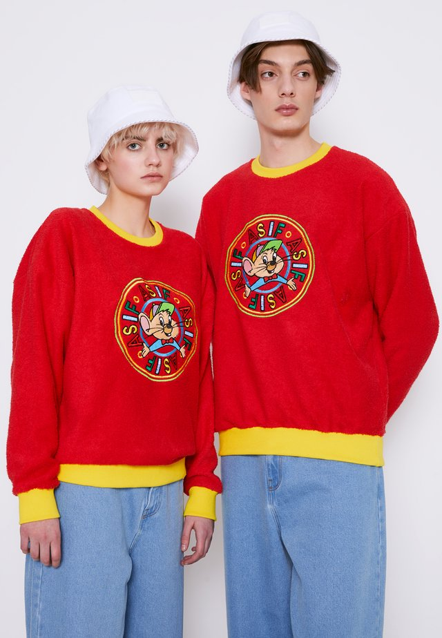 UNISEX RIZZO MOUSE SWEATSHIRT - Sweater - red
