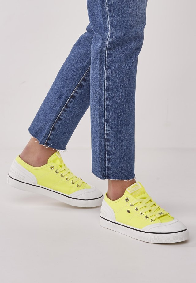 Sneakersy niskie - neon yellow