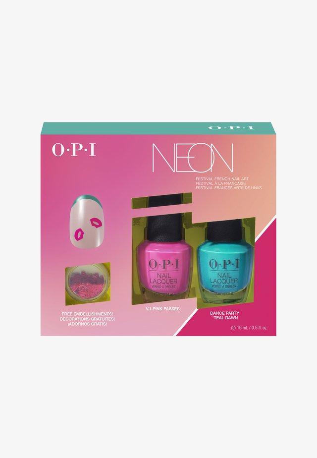 SUMMER 2019 PUMP COLLECTION NAIL ART DUO PACK - Nail set - DDN05 - pump collection nail art duo pack