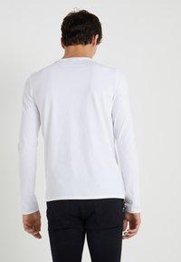 Emporio Armani - Long sleeved top - white - 2