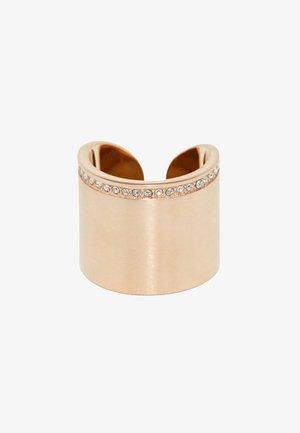 MIT ZIRKONIA - Ring - rose gold-coloured