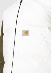 Carhartt WIP - BROOKE VEST DEARBORN - Waistcoat - wax - 5