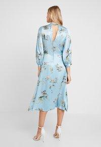 Closet - CLOSET GATHERED NECK A-LINE DRESS - Cocktail dress / Party dress - blue - 2