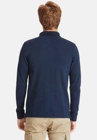 Timberland - LS MILLERS RIVER  - Polo shirt - dark sapphire - 2