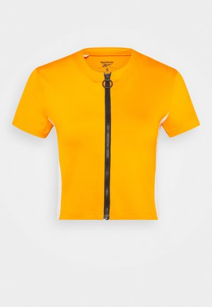 WOR CROP - T-shirts - orange