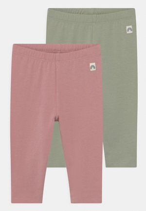 2 PACK UNISEX - Legíny - dusty pink