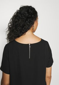 ONLY Carmakoma - CARLUXINA DRESS - Day dress - black - 3