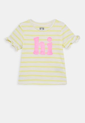 TODDLER GIRL - Triko s potiskem - yellow