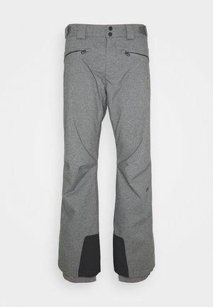 TRUULI SKI PANT - Snow pants - grey melange