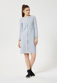 Talence - Vestito di maglina - gris mélangé - 1