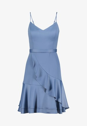 Cocktail dress / Party dress - blue mineral