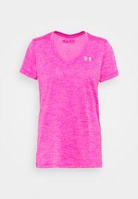 Under Armour - TECH TWIST - Camiseta básica - meteor pink - 3