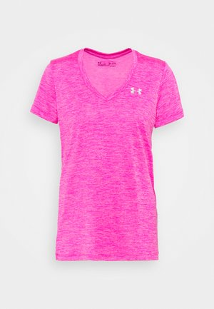 TECH TWIST - T-shirt de sport - meteor pink