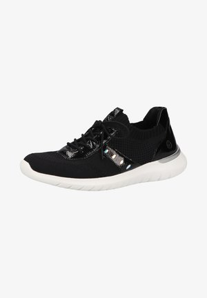 Sneakers laag - schwarz/silber-multi/black