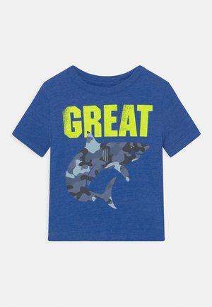 T-shirt print - admiral blue