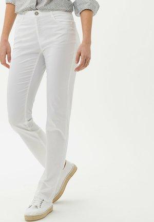 STYLE CAROLA - Trousers - white