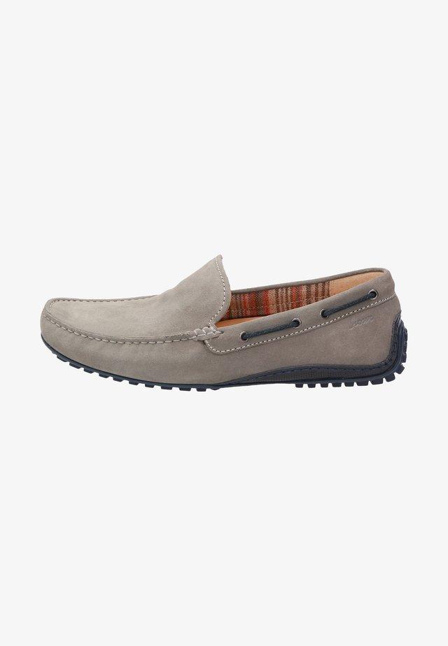 Chaussures bateau - grau