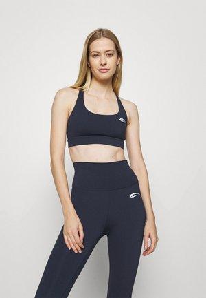 DAMEN SPORT BRA - Medium support sports bra - dunkelblau