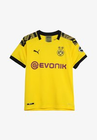Puma - BVB BORUSSIA DORTMUND HOME REPLICA WITH EVONIK LOGO - Club wear - cyber yellow/black - 3