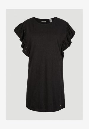 Jersey dress - black out