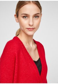 comma casual identity - Cardigan - scarlet red - 4
