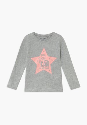 KIDS GIRLS CAN DO ANYTHING - Long sleeved top - grey