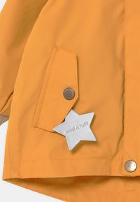 MINI A TURE - WALLY UNISEX - Short coat - waxed honey - 4