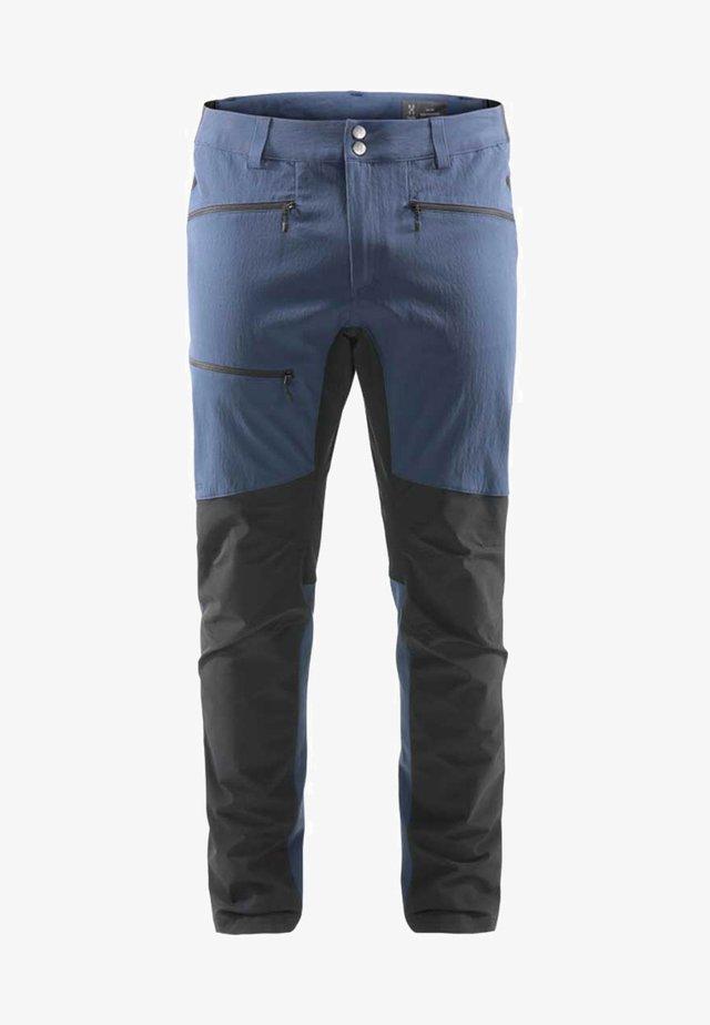 RUGGED FLEX PANT  - Ulkohousut - tarn blue/true black
