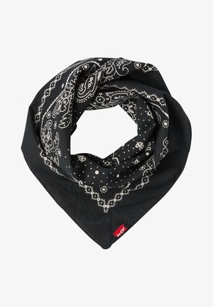 PAISLEY BANDANA - Šátek - regular black