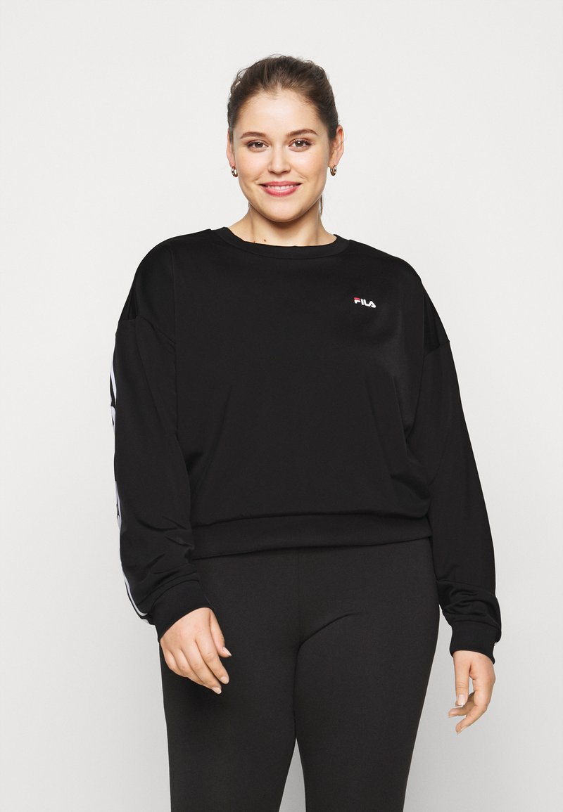 Fila Plus - TALLIS CREW - Sweatshirt - black