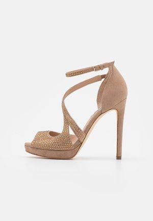 FINNEE - High heeled sandals - nude