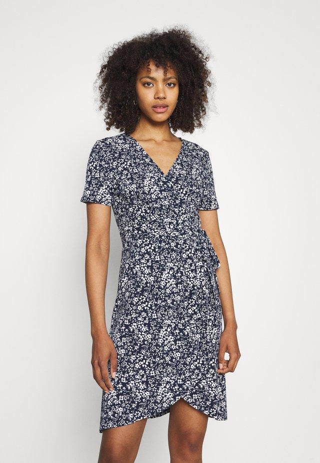 VINAYELI WRAP DRESS - Sukienka z dżerseju - navy blazer/naya