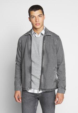 JCODENIM OVERSHIRT - Denim jacket - grey denim