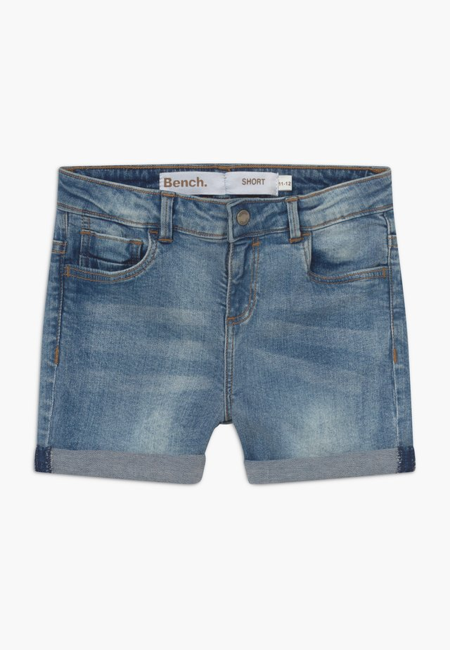 SHORTLE - Jeans Shorts - light-blue denim