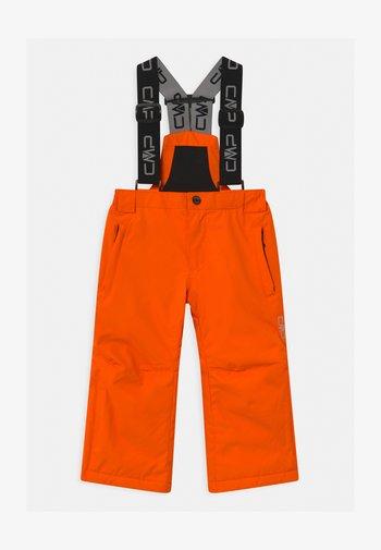 SALOPETTE UNISEX - Snow pants - orange fluo