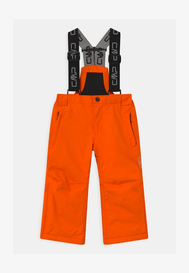SALOPETTE UNISEX - Skibroek - orange fluo