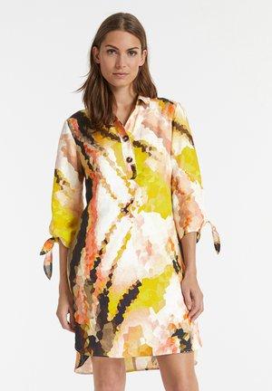 Shirt dress - papaya gemustert