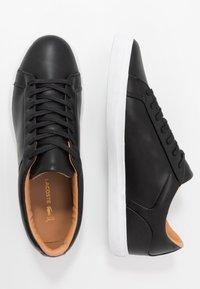 Lacoste - LEROND - Sneakers - black/white - 1