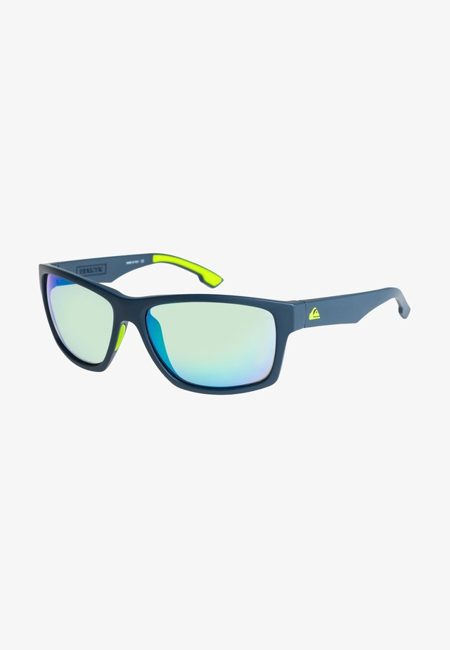 Sunglasses - matt navy ml yellow