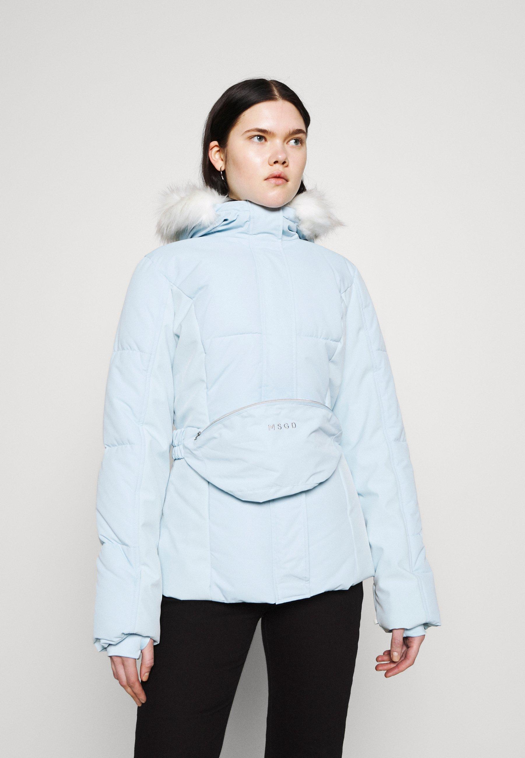 Femme SKI JACKET WITH MITTENS AND BUMBAG  - Veste d'hiver