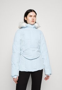 Missguided - SKI JACKET WITH MITTENS AND BUMBAG  - Winter jacket - light blue - 0