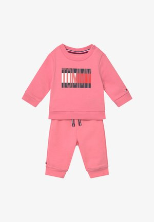 BABY FLAG TRACKSUIT SET - Trainingspak - pink