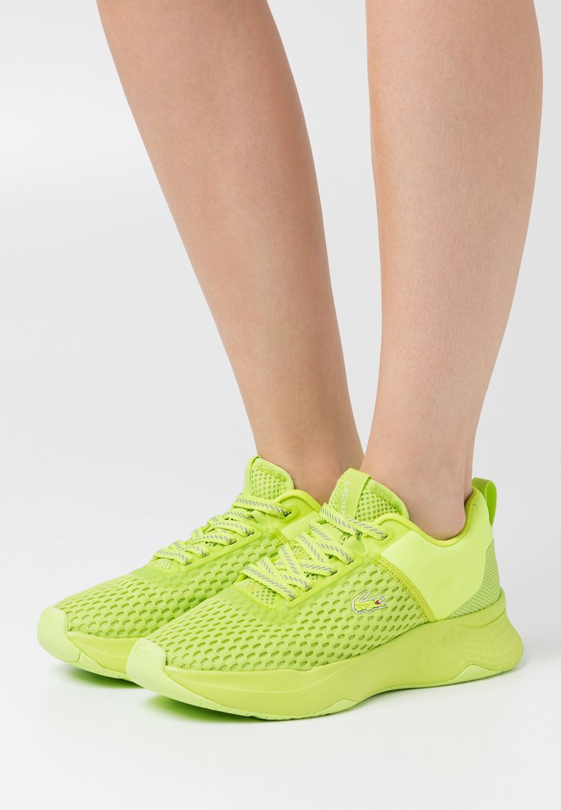 Lacoste - COURT DRIVE - Baskets basses - green/light green