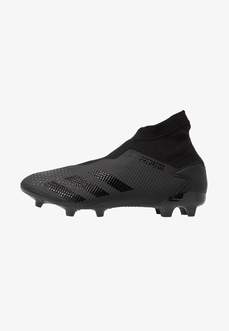 adidas Performance - PREDATOR 20.3 LL FG - Moulded stud football boots - core black/dough solid grey