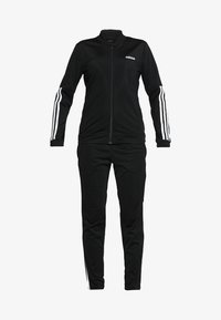 adidas Performance - ESSENTIALS 3STRIPES SPORT TRACKSUIT - Tracksuit - black/white - 8