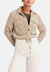 comma casual identity - Summer jacket - dark beige - 5