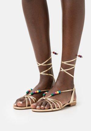 VINI - Sandals - dore