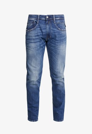 ANBASS - Straight leg jeans - dark blue